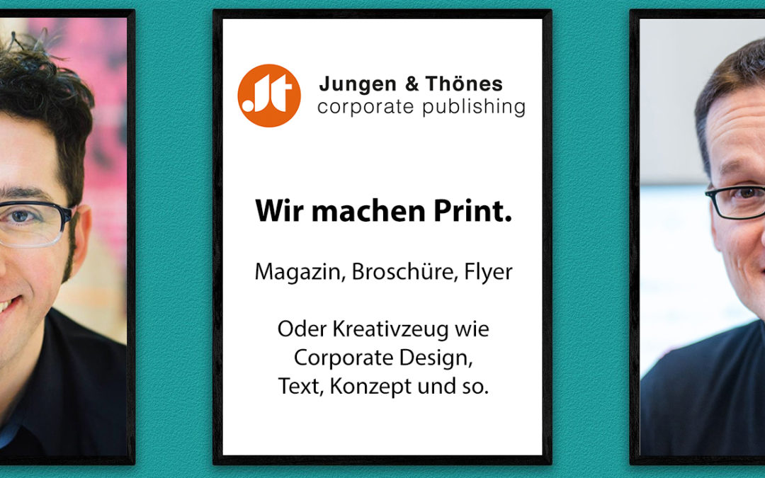 Jungen & Thönes | corporate publishing