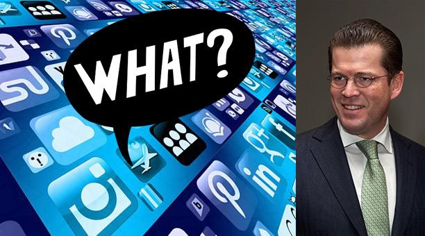 """Die Macht von Social Media – betrachtet am """"Fall"""" zu Guttenberg(s)"""