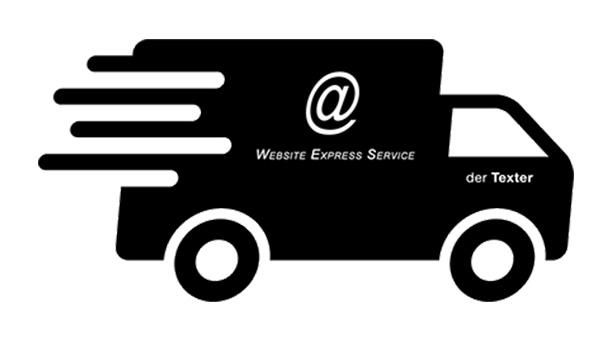 Express-Service für kleine Internetseiten